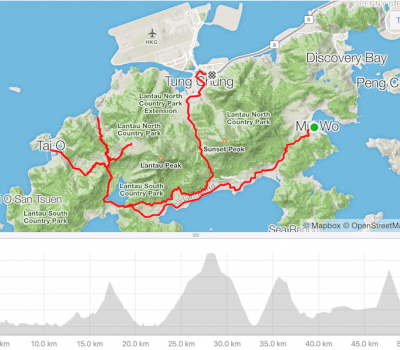 Ride Route - Lantau